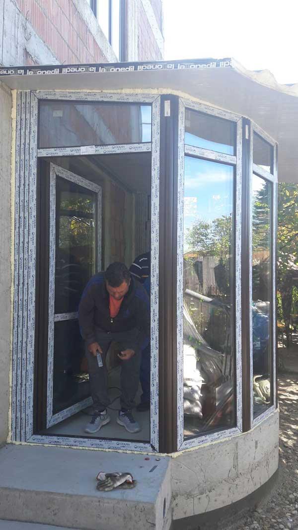 Inchidere veranda vila cu termopan